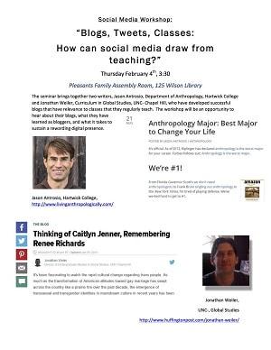 Defending Anthropology Social Media Workshop