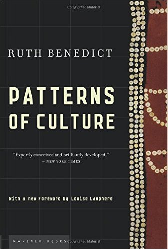 1934 Patterns of Culture wins conceptual clarity, writing style, ethnographic example, & impact.