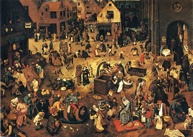Bruegel Carnival Lent Rethinking the Social