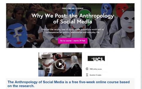 Anthropology of Social Media
