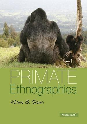 Primate Ethnographies - Strier